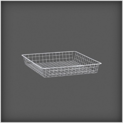 Wire Drawer  527x527x85, white