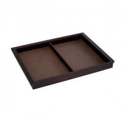 Accessory Tray 450 x 44 x 530mm, walnut