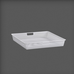 Mesh Drawer 55cm, white