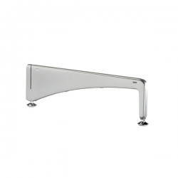 Foot Freestanding 470mm, platinum