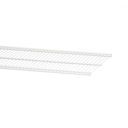 Wire Shelf 30x45cm white