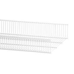 Wire Shelf Basket 437 x 607 x 96mm, white