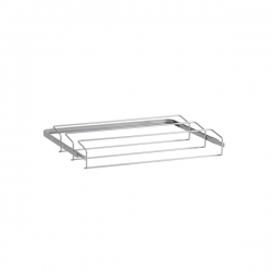 Gliding Shoe Rack, 430x605x96, platinum