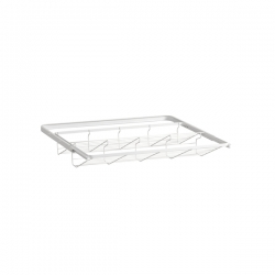 Gliding Shoe Shelf, 430x605x96, white