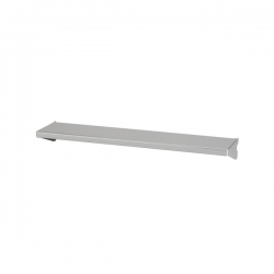 Shelf/Tray 45x10cm, platinum