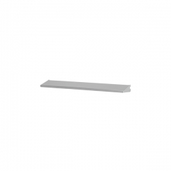 Shelf/Tray 60x10cm, platinum