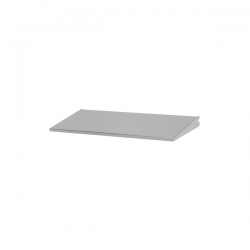 Shelf/Tray 60x25cm, platinum
