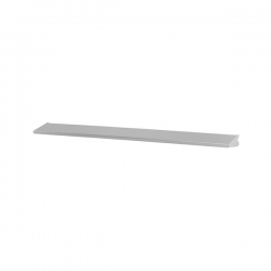 Shelf/Tray 90x10cm, platinum