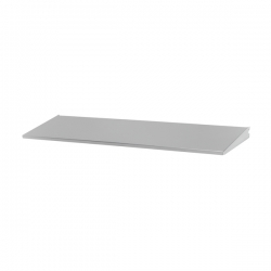 Shelf/Tray 90x25cm, platinum