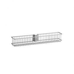 Small Wire Basket 79x70x 435mm, platinum