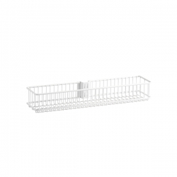 Medium Wire Basket 104x70x435mm, white