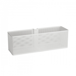 Large Mesh Basket, white