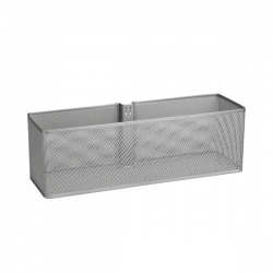 Large Mesh Basket, platinum