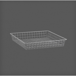 Wire Drawer 527x527x85, platinum