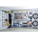 Elfa® UTILITY STORAGE/GARAGE (Practical and efficient wall storage for your garage, storage room or garden shed.