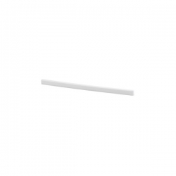 Bracket Cover right 32cm, white
