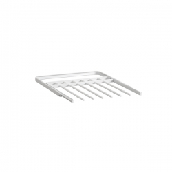 Gliding Pant Rack 436mm, white