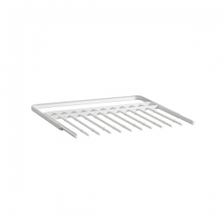 Gliding Pant Rack 605mm, white