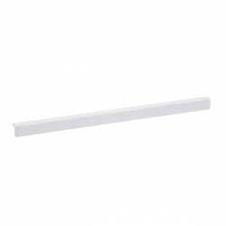 Fascia, 34 x 32 x 607mm, white