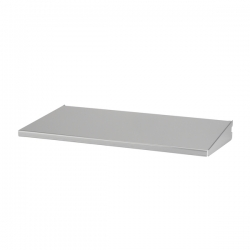 Shelf/Tray 45x25cm, platinum