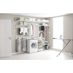 Elfa® UTILITY LAUNDRY Use together with Classic wallbased/drawer system and Freestanding.